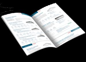 Katalog klimatskih naprav Toshiba za poslovno rabo